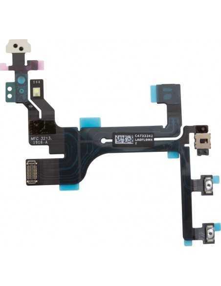 Nappe power, volume, vibreur et micro pour iPhone 5C