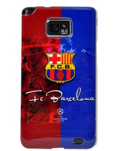Coque Galaxy S2 FC Barcelone