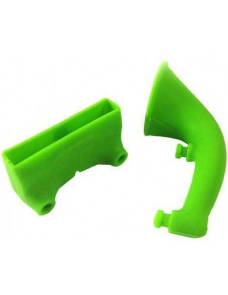 Ampli sonore iPhone silicone Vert