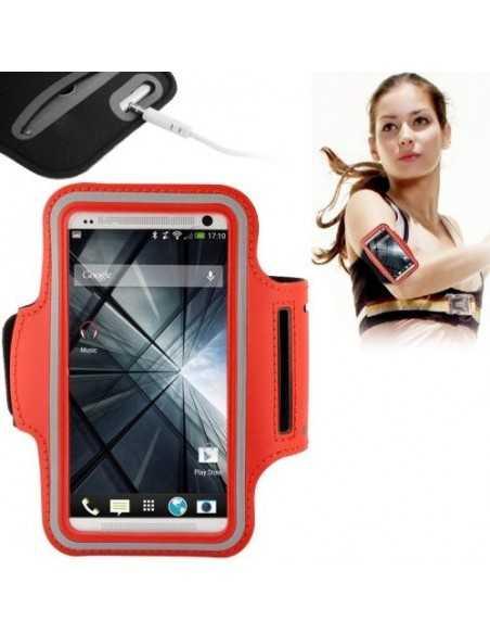 Brassard telephone mobile Samsung Sport Rouge
