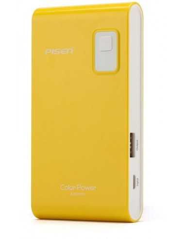 Chargeur 4200mAh Jaune pour Iphone samsung HTC etc.