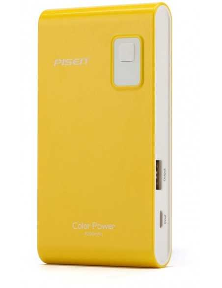 Chargeur 4200mAh Jaune pour iPhone samsung HTC etc. Jaune
