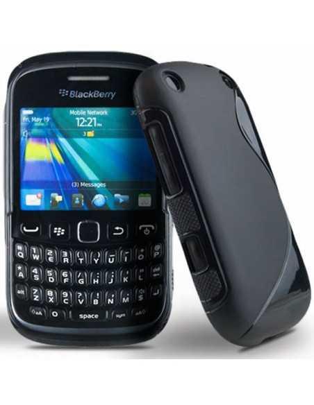 Coque Blackberry 9320 et 9220 S-Line Noir