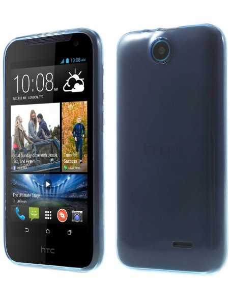 Coque HTC Desire 310 ultra-fine Bleu foncé