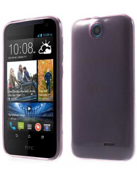 Coque HTC Desire 310 ultra-fine Fushia