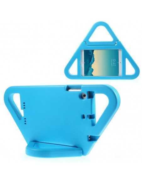 Coque iPad mini et Mini 2 Triangle Bleu