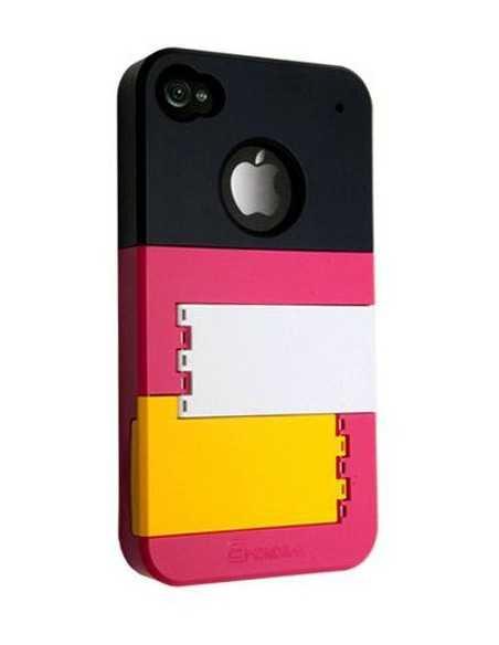 Coque iPhone 4 Funny Noir