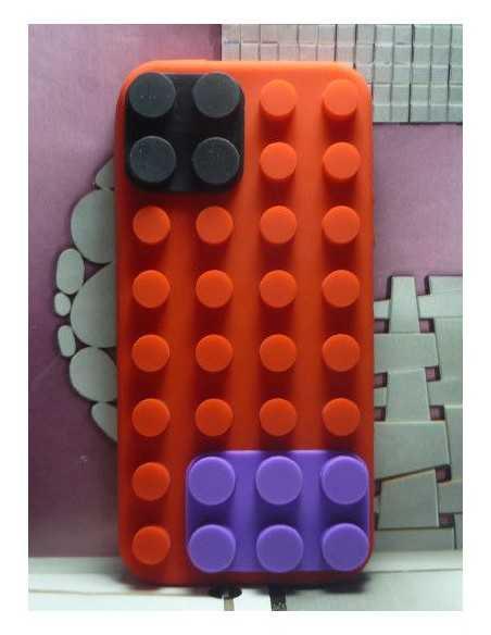 Coque iPhone 5 et 5S Lego Rouge