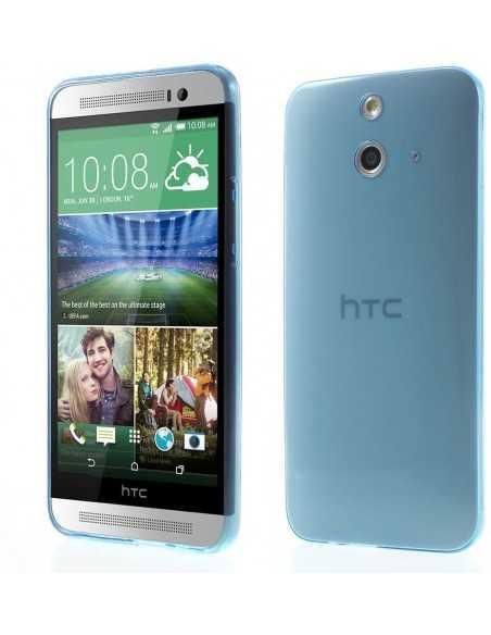 Coque HTC One E8 Ace ultra-fine Bleu foncé
