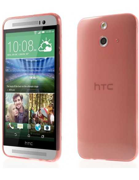 Coque HTC One E8 Ace ultra-fine Rouge