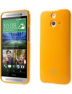 Coque HTC One E8 Silicone Mercury