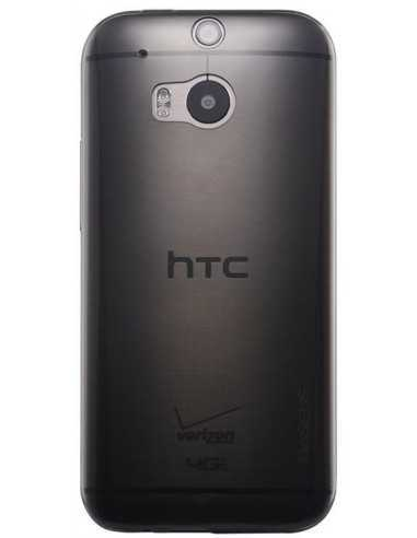Coque HTC One M8 Silicone Baseus Air Noir Transpant