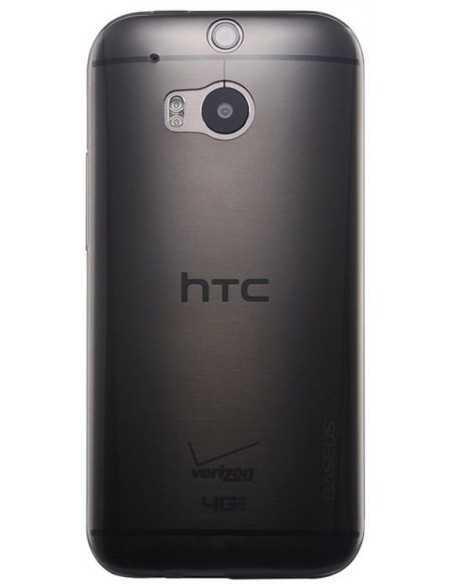 Coque HTC One M8 Silicone Baseus Air Noir Transparent Noir