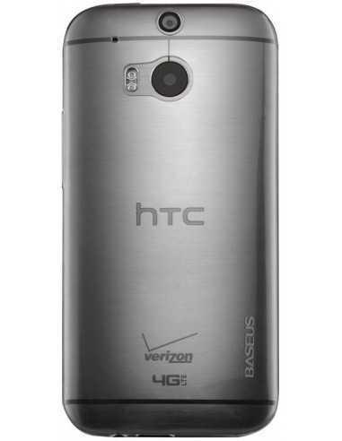Coque HTC One M8 Silicone Baseus Air Transparent