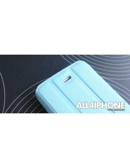 Etui iPhone 4 et 4S Smart Case Bleu