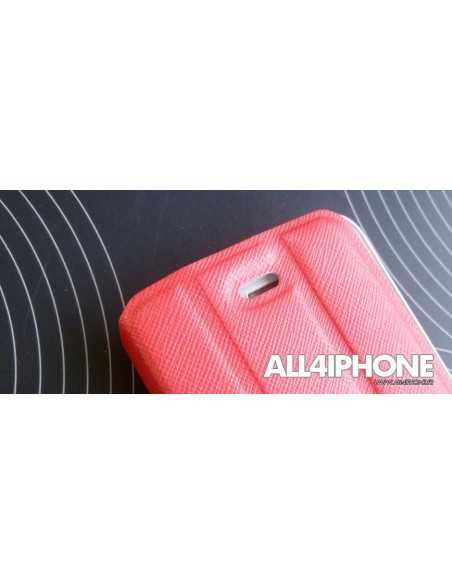 Etui iPhone 4 et 4S Smart Case Rouge