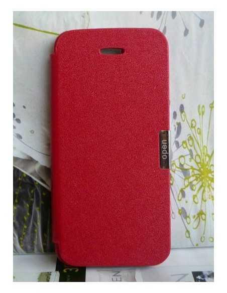 Etui iPhone 5 / 5S Table Talk Rouge