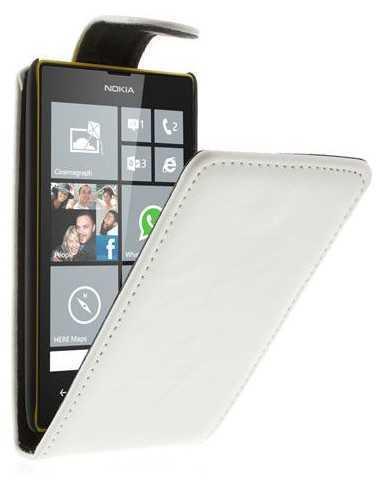 Etui Lumia 520 et lumia 525 simili cuir