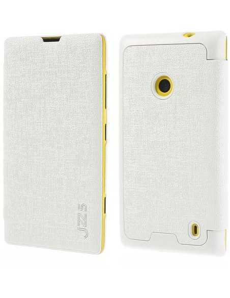 Etui Lumia 520 et Lumia 525 JZZS Blanc