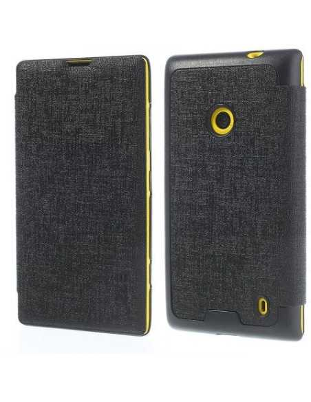 Etui Lumia 520 et Lumia 525 JZZS Noir