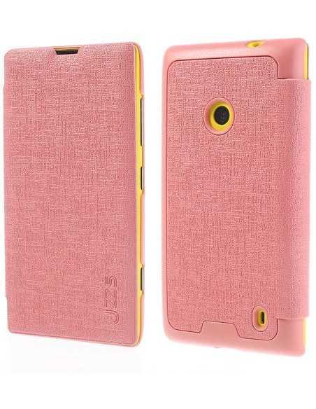 Etui Lumia 520 et Lumia 525 JZZS Rose
