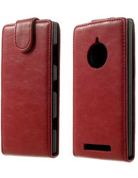 Etui Lumia 830 Vertical Rouge