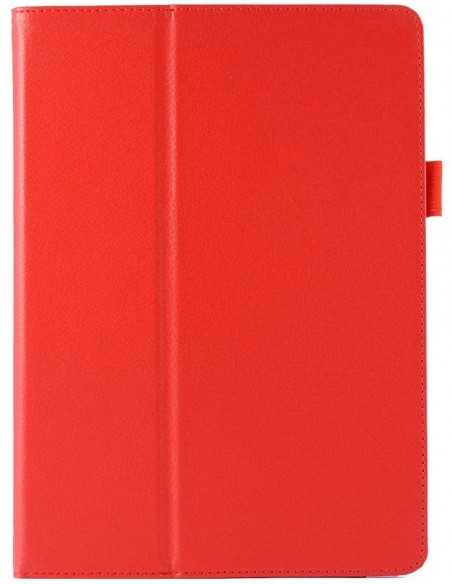 Housse iPad Air 2 Lychee Rouge
