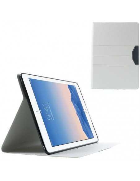 Housse iPad Air 2 Simili-cuir Blanc