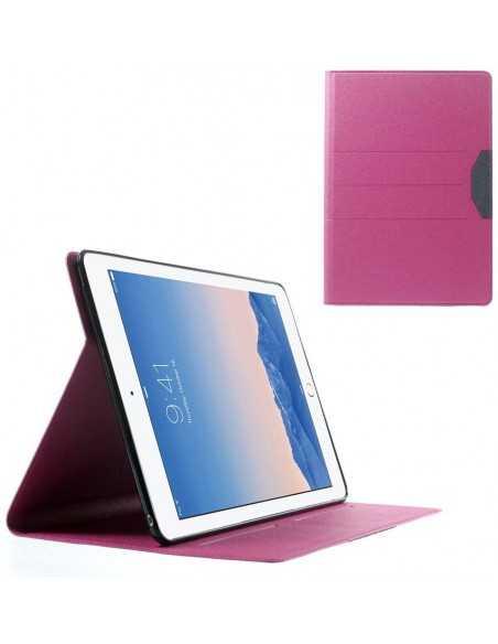 Housse iPad Air 2 Simili-cuir Fushia