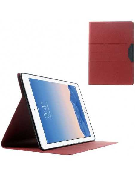 Housse iPad Air 2 Simili-cuir Rouge