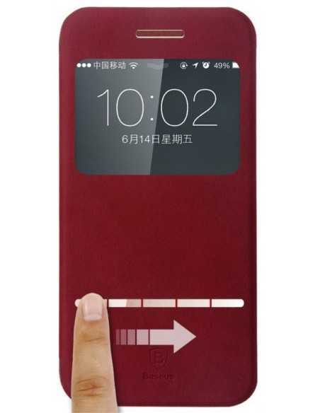Etui portefeuille iPhone 6 Rouge