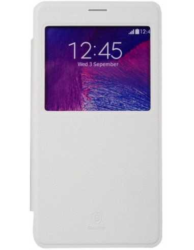 Etui Galaxy Note 4 Cuir Baseus avec fenetre