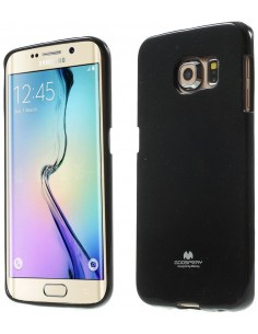Coque Galaxy S6 Edge Silicone Gel Mercury
