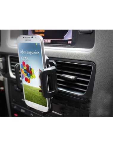 Support universel Iphone Samsung Galaxy pour Grille ventilation