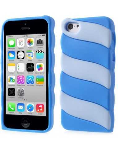 Coque Iphone 5c fantaisie - silicone