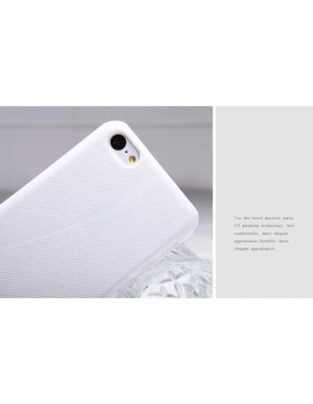 Coque iPhone 5C Nillkin Super Matte - silicone Blanc