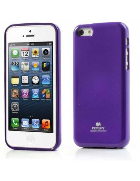 Coque iPhone 5C Gel Mercury - silicone Violet