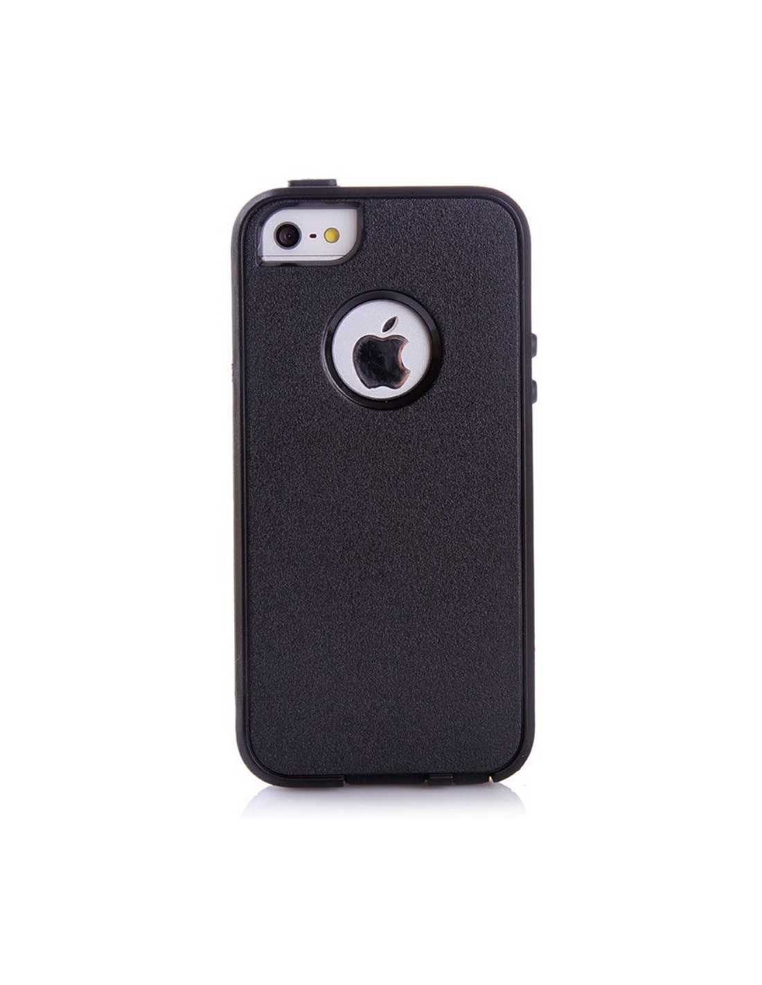 coque iphone 5s 5 silicone hybrid resistante