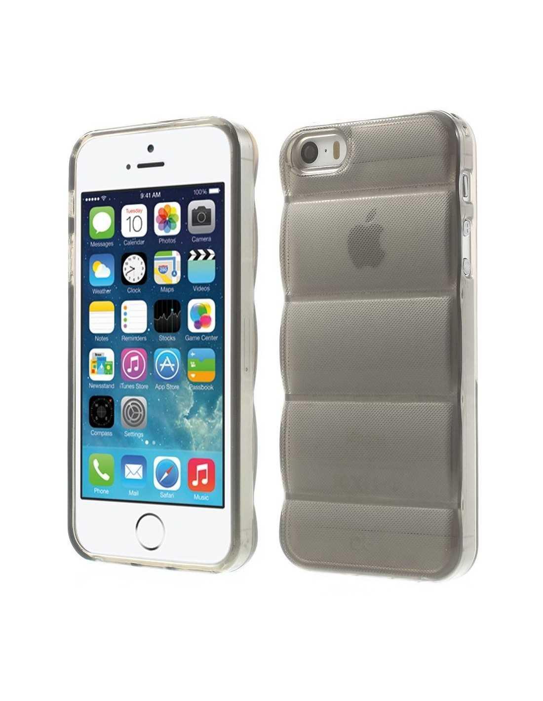 coque iphone 5s 5 silicone design body armor