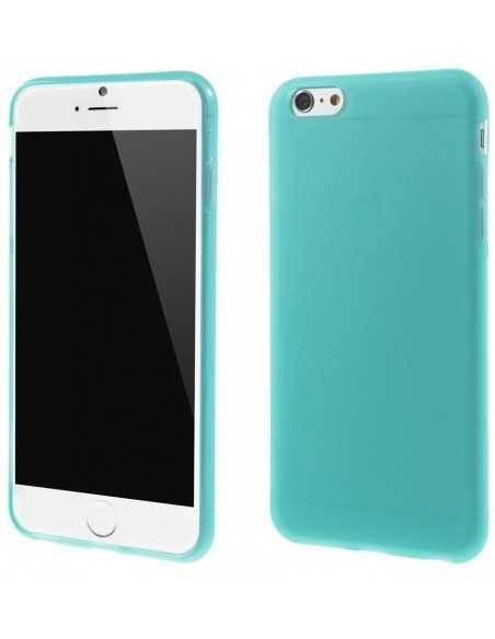 Coque iPhone 6 Plus et 6s Plus silicone antidérapant Bleu