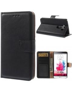 Etui LG G3 Simili cuir Portefeuille Magnetic
