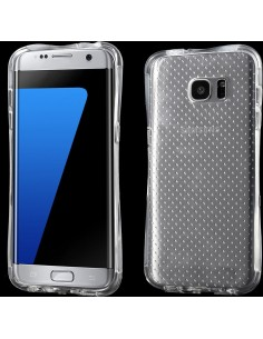 Coque Galaxy S7 Edge silicone Drop Protection transparent