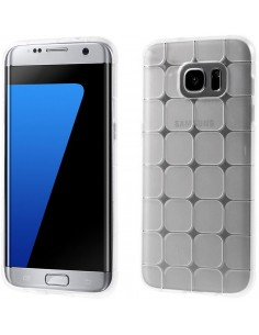 Coque Galaxy S7 silicone - Magic cube