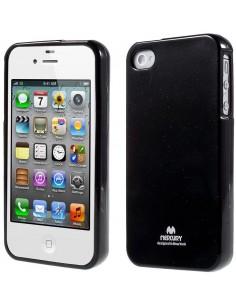 Coque Iphone 4 et Iphone 4S Gel Mercury - silicone