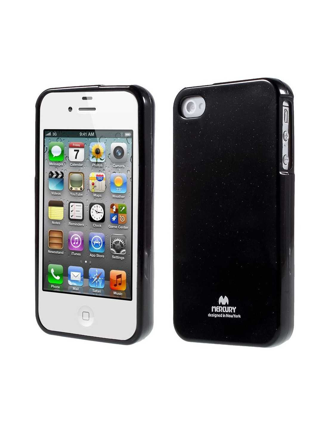 coque silicone iphone 4 4s gel mercury