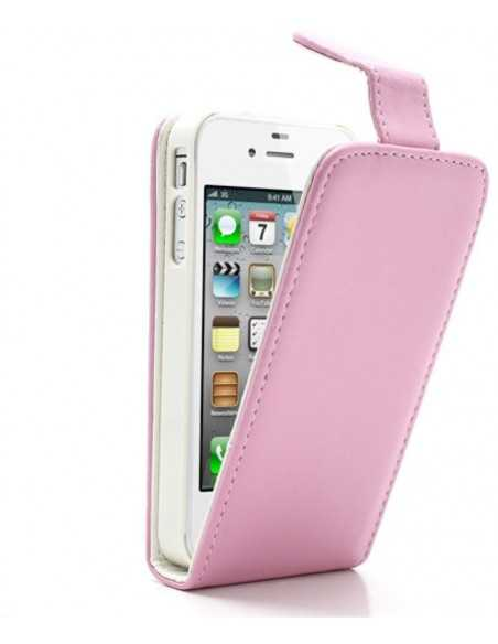 Etui iPhone 4 et 4S Vertical Magnetic Rose