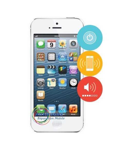Remplacement nappe power - volume - vibreur iPhone 5