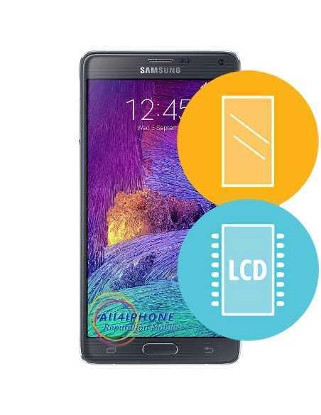 Réparation écran Galaxy Note 4 - LCD, tactile