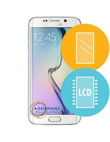 Réparation écran Galaxy S6 Edge - LCD, tactile et contour