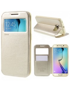 Etui Galaxy S6 Edge Cuir ROAR